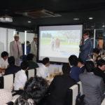 広尾TC10周年記念パーティ×2015年産募集馬調教見学ツアー